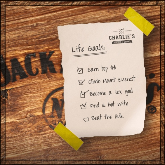 charlies lifegoals 27 03 15