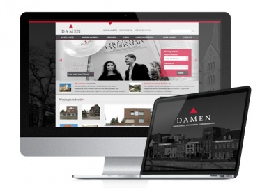 damen makelaar website