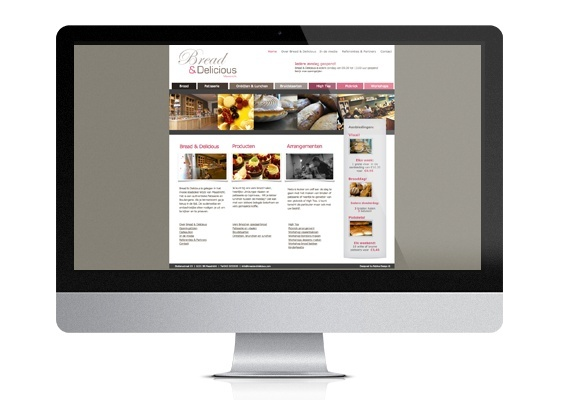 bread & delicious bakker patisserie website