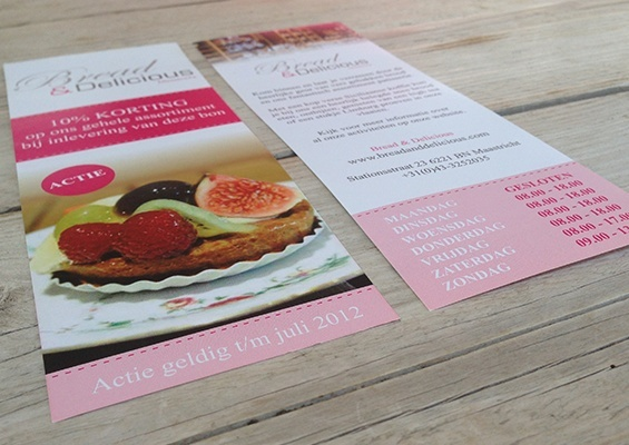 bread & delicious flyer