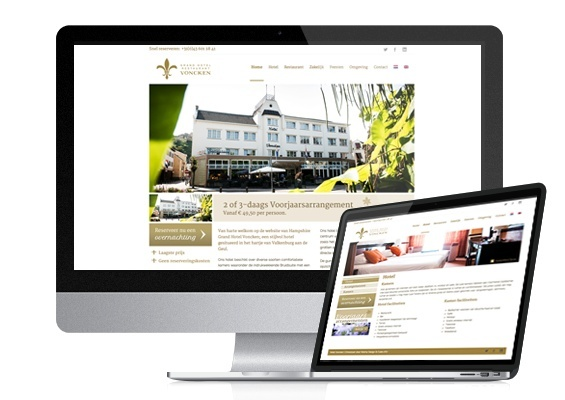 hotel voncken website