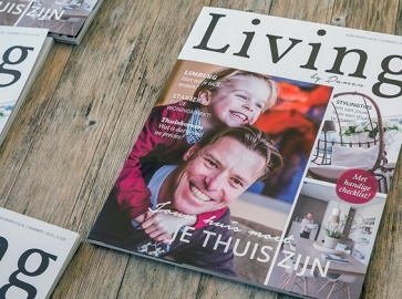 living by damen magazine design