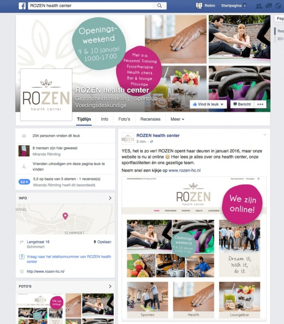 robina design rozen health center facebook