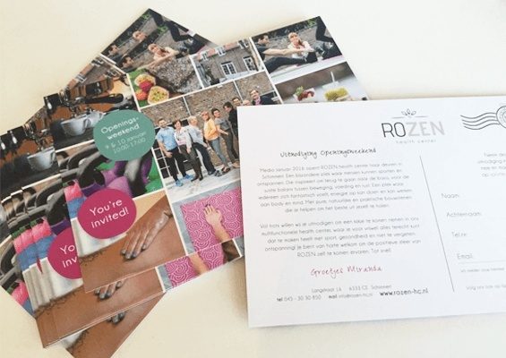 robina design rozen health center postcard