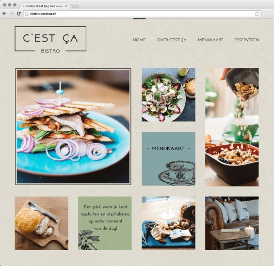 website bistro cestca webdesign